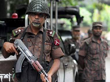File image of Sri Lankan police. Getty Images.