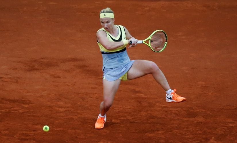 Svetlana Kuznetsova won the French Open in 2009 and could make a deep run into the second week once again this year. Reuters