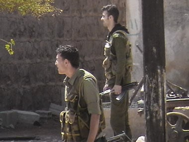 A file image of Syrian forces. AP