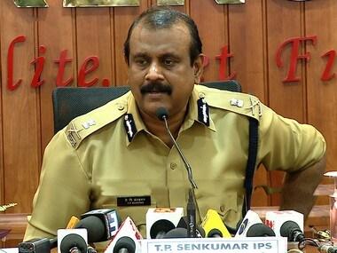 Kerala DGP TP Senkumar. PTI