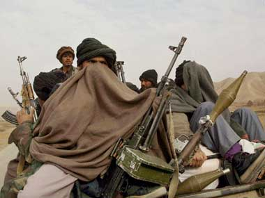 A file image of Taliban fighters. Reuters