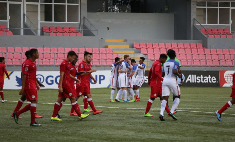 The United States football team defeated Honduras to book a place in the U17 World up. Credit: US Soccer Federation