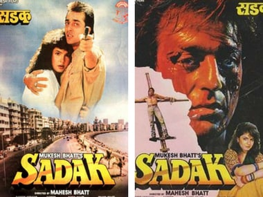 Poster of the 1991 film Sadak. Image via Twitter.