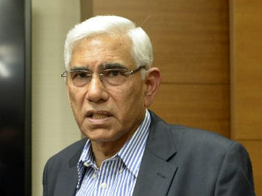 File photo of Vinod Rai. AFP
