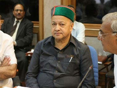 File picture of Himachal Pradesh chief minister Virbhadra Singh. AFP