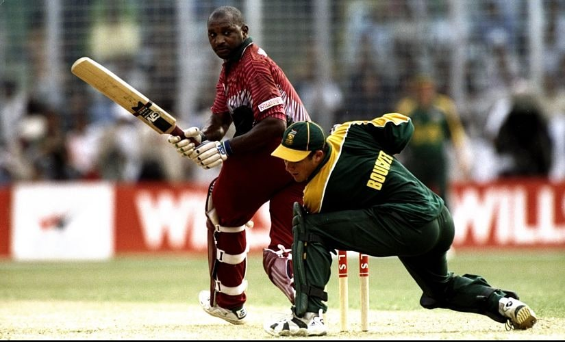 In 1998 Champions Trophy, the most eye-catching batsman was the West Indies' Philo Wallace. Like his namesake Christopher, he was a big man but a youthful prodigy, making his ODI debut at just 20. Although his form was notoriously inconsistent, in Bangladesh he took Pakistan for 79 off 58 deliveries, then South Africa for a century in the final. Getty