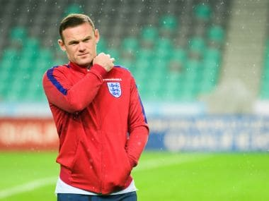 Wayne Rooney has been dropped from England squad for the World Cup Qualifier against Scotland. AFP