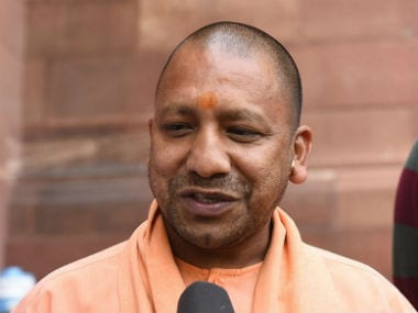File image of Uttar Pradesh chief minister Yogi Adityanath. Image courtesy: News18