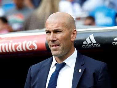 File image of Real Madrid coach Zinedine Zidane. Reuters
