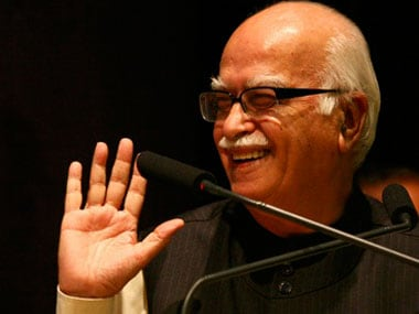 File image of LK Advani. Reuters