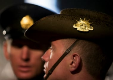 File image of two Australian soldiers. Reuters