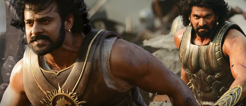 Prabhas and Rana Daggubati in Baahubali 2: The Conclusion/Bahubali 2