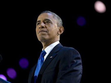 File image of Barack Obama. AP