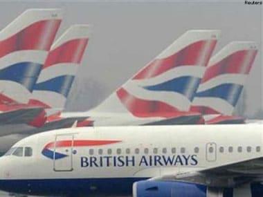 File image of a British Airways flight. IBN