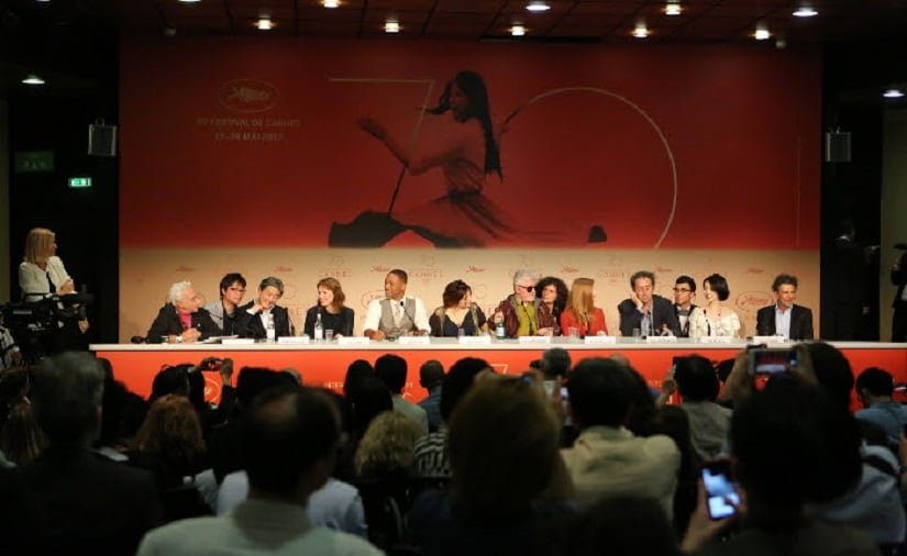 The Cannes 2017 jury