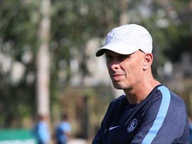 India head coach Stephen Constantine. Image courtesy: AIFF media