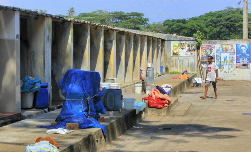 The Dhobi Khana in Fort Kochi. Photo courtesy: Thomas Thottungal.