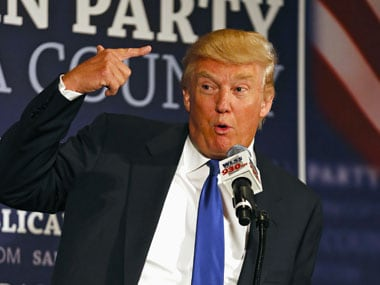 File image of Donald Trump. Reuters