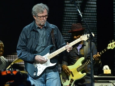 GETTY/AFP/File / Larry Busacca Eric Clapton