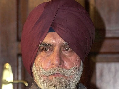File photo of KPS Gill. AFP