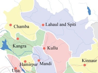 The earthquake hit Chamba district of Himachal Pradesh for the third time in three days. Wikipedia