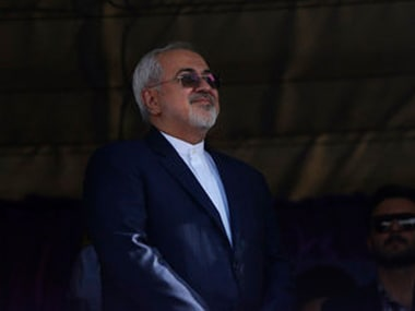 File image of Iranian foreign minister Mohammad Javad Zarif. AP