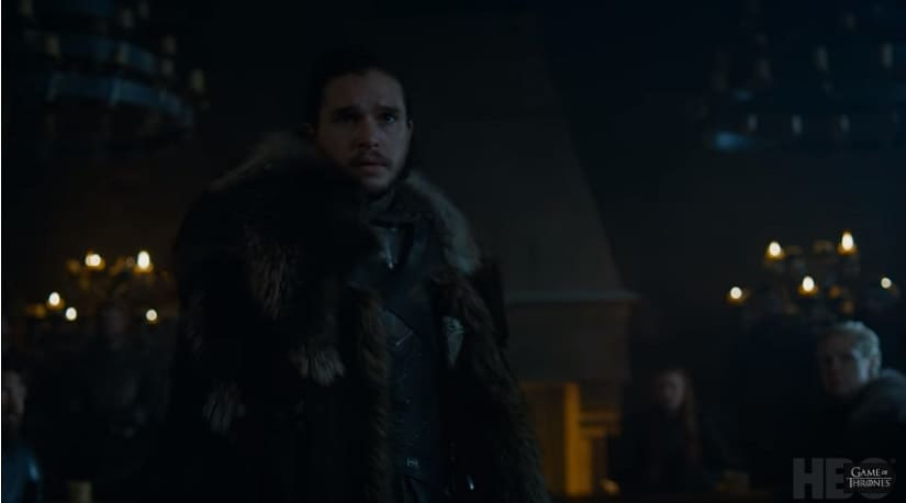 Jon's got more on his mind than being 'King in the North'