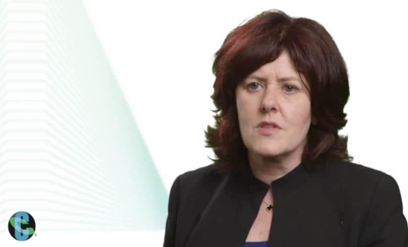 Cognizant CFO Karen McLoughlin/ YouTube screenshot