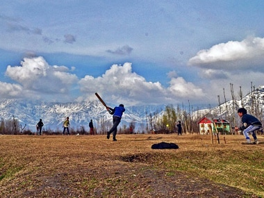 Representative image. Children playing cricket in Srinagar. Getty Images
