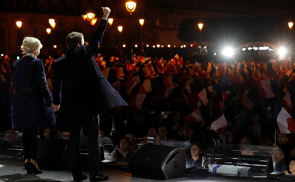Pro-European centrist Emmanuel Macron promised on Sunday to heal France's divisions after crushing Far Right leader Marine Le Pen in a pivotal presidential election that has given him a large but fragile mandate for change. AFP