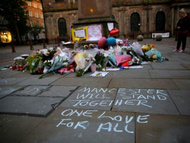 Residents of Manchester gathered to pay tribute to  the victims of the attack. Reuters