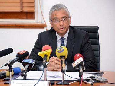 File image of Mauritius Prime Minister Pravind Jugnauth. Getty Images