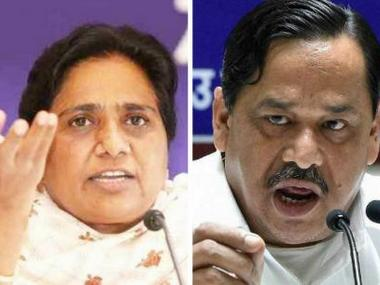 File image of Mayawati and Naseemuddin Siddiqui.