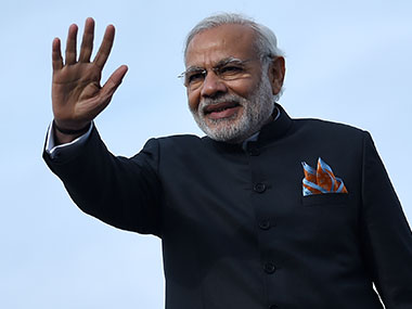 A file photo of Prime Minister Narendra Modi. AFP