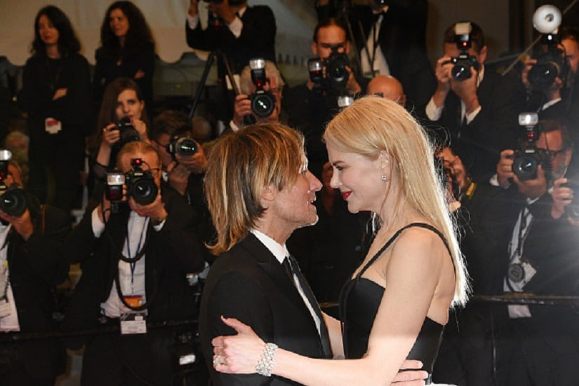 CANNES, FRANCE - MAY 22: Keith Urban;Nicole Kidman attend 'The Killing Of A Sacred Deer' premiere during the 70th annual Cannes Film Festival at Palais des Festivals on May 22, 2017 in Cannes, France. (Photo by Foc Kan/FilmMagic)