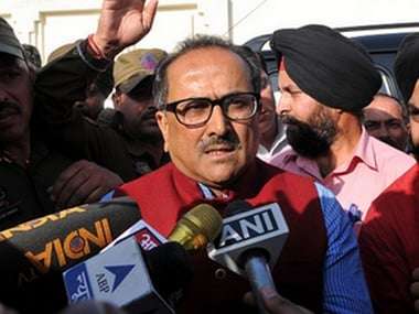 Jammu and Kashmir Deputy CM Nirmal Singh. Getty Images