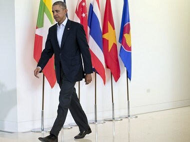 File photo of former president Barack Obama. AP