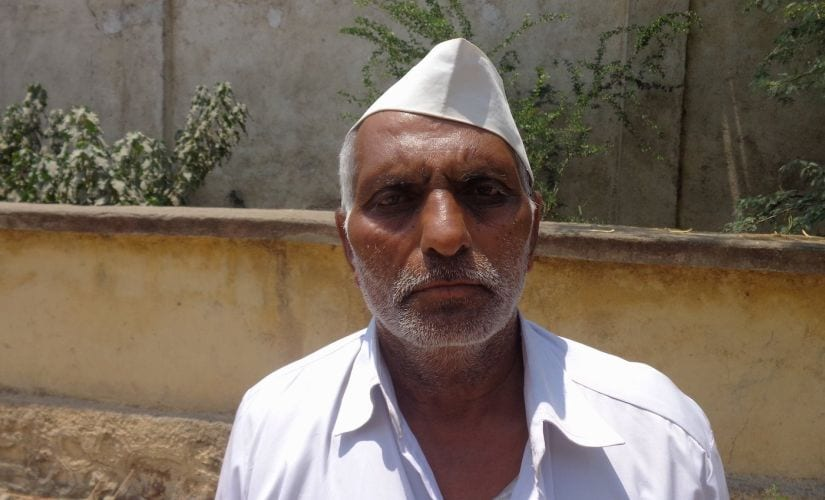 Vitthal Chavan, a farmer from Pangaon: still waiting for a call from the NAFED centre