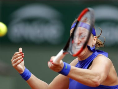 Czech Republic's Petra Kvitova beat US' .AP