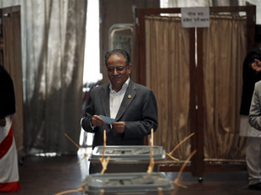 File image of Nepal Prime Minister Prachanda. Reuters