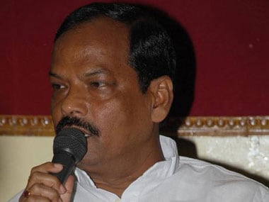 File image of Jharkhand Chief Minister Raghubar Das. Image courtesy: CNN-News18