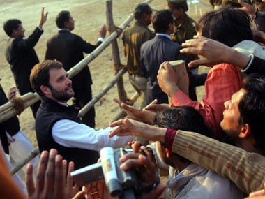 File image of Congress vice-president Rahul Gandhi at a rally in Saharanpur in 2011. Getty Images