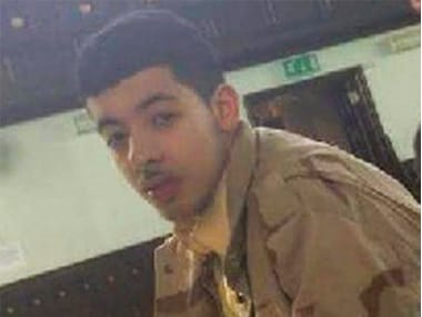 File image of Manchester attack suicide bomber Salman Abedi. AP