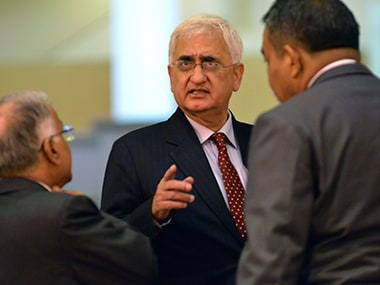 Senior Congress leader and lawyer Salman Khurshid. Reuters