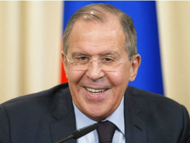 File photo of Russian foreign minister Sergey Lavrov. AP