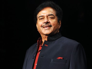 File image of actor and politician Shatrughan Sinha. AFP