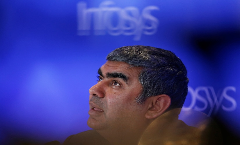 Infosys CEO Vishal Sikka/ Reuters