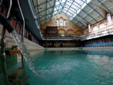 File image of  a swimming pool ( representative photo). Reuters