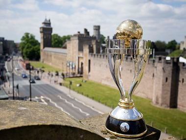 The ICC Women's World Cup Trophy. Image: Twitter/ @cricketworldcup