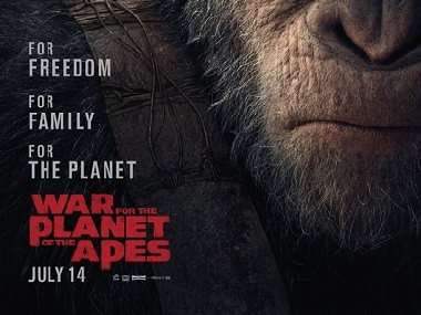War for the Planet of the Apes poster. Image via Facebook